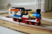 LEGO + Brio tren madera híbrido (vamos a llamarlo BREGO!)