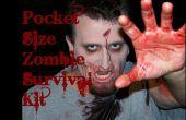 El bolsillo tamaño Kit de supervivencia Zombie!