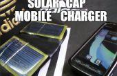 CARGADOR de móvil SOLAR de CAP