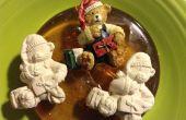 Ornamento de empuje molde del oso
