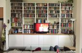 Hack IKEA: armarios empotrados y estantes