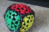 Cómo resolver el cubo de Rubik Gear de bola