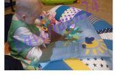 Estera de la textura del bebé