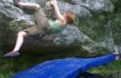 Cómo hacer una estera bouldering a medida