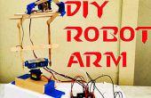 Brazo robótico Arduino DIY