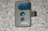 Hacer de un iPod 30 cuna de un abrelatas de la puerta del garaje control remoto!