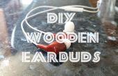 Auriculares de madera bricolaje