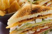 Cómo hacer un Sandwich Club