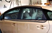Pantalla de la ventana de coche