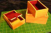 Caja imitación madera recuerdo felted secreto