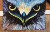 Bricolaje pintura de acrílico de Eagle Eye