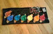 Generador de tono de tela microcontrolador en C código