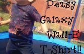 Cómo hacer una camiseta de la galaxia de Wall-E