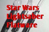 Star Wars sable de luz utensilios