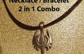 Collar / pulsera - Combo 2 en 1 (Unisex)