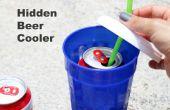 Oculta cerveza refrigerador