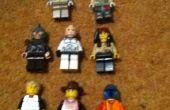 Figuras de LEGO guerra.