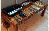 Tabla de consola de madera TV plataforma