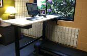 De pie y cinta escritorio DIY