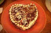 Pastel de fresa Chocolate de San Valentín