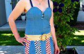 Casualmente patriótica - una bufanda vestido
