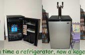 Cómo construir un kegerator kegerator juego o homebrew desde un mini refrigerador Sanyo