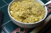 Sopa de gota de huevo de Eggstra