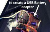 Adaptador ChipKIT Proto-escudo de fuente de alimentación externa USB