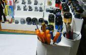 Organizador de pinturas para pintores de figuras.