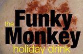 Cóctel de vacaciones rompope Funky Monkey