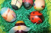 Huevos de Pascua para colorear divertido