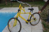 Bicicleta dirección inversa