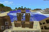 Minecraft PE vaca matanza lección