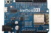 La ESP8266 WeMos-D1R2 de programación mediante software/IDE de Arduino