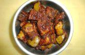 Cómo hacer encurtidos de Mango, la manera de India del Sur