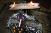 Flaming K'nex Spinner (de la muerte!)
