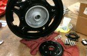 Convertir tu rueda de la Honda a un freno de disco
