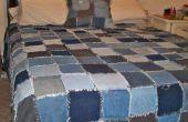 Dril de algodón Rag Quilt