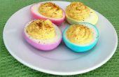 Huevos de Deviled ahora (en colores bastante)