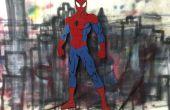 Arte de la pared de Spider-Man - herramientas limitadas