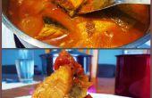 Curry de pescado de salmón