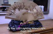 Isla de LED iluminación del ventilador