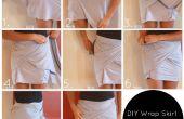 DIY envoltorio falda