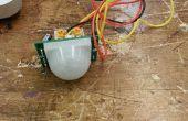 Activada por movimiento LED con Sensor PIR de Parallax