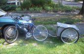Sin embargo otro remolque de bicicleta