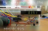 Multiplexación hace fácil con el MM74C925N
