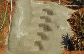 ESCALERAS de cremallera - un nuevo tipo de escalera con Nylon-cemento