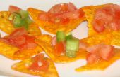 Nacho Cheese Tomato Appetizer