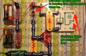 Programa de una cadena de luces de Navidad a parpadear el código morse con Arduino y Snap circuitos