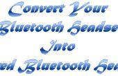 Convertir tus auriculares Bluetooth en auriculares Bluetooth con cable